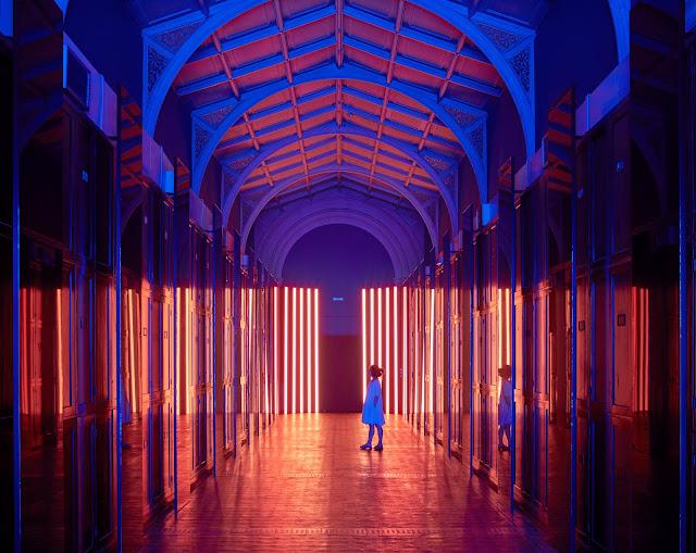 Interior design, design installation, colour, hello peagreen, london design festival