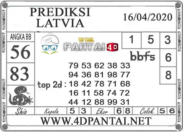 PREDIKSI TOGEL LATVIA PANTAI4D 16 APRIL 2020