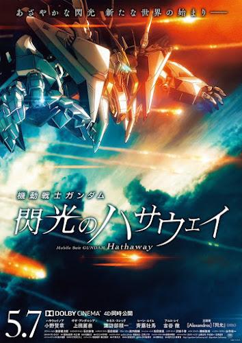 Mobile Suit Gundam: Hathaway (BRRip 1080p Dual Latino / Ingles) (2021)
