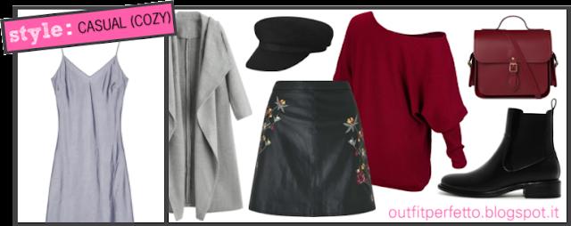 Come abbinare un VESTITO SOTTOVESTE (outfit Autunno/Inverno)