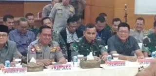 Paska Penangkapan 45 Orang Kelompok SMB, Pangdam II/SWJ Kunjungi Jambi