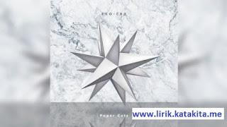 Lirik lagu EXO-CBX - Paper Cuts arti makna translate bahasa indonesia