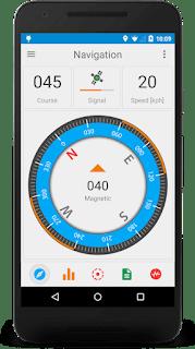 تطبيق GPS Signal  احصائيات GPS الفضائية