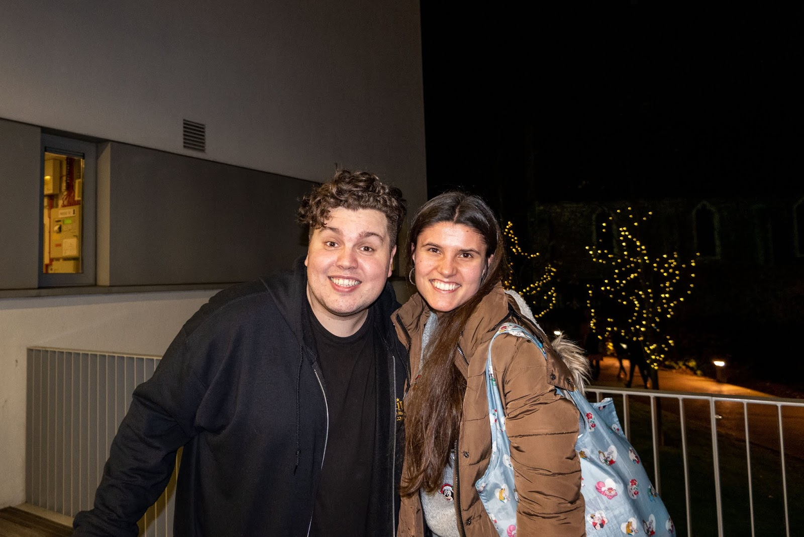 Meeting Mr Poppy (Scott Paige) at Stage Door after the show