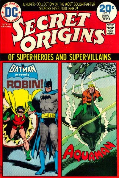 Secret Origins #7, Robin, Aquaman