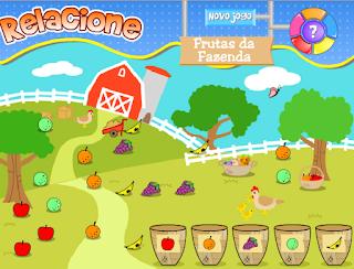 http://www.jogosdaescola.com.br/play/index.php/relacionar/259-relacione-frutas-da-fazenda
