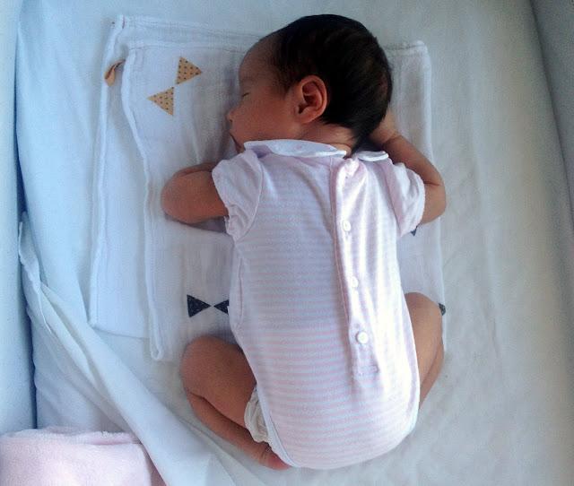 Mi bebé durmiendo dulcemente