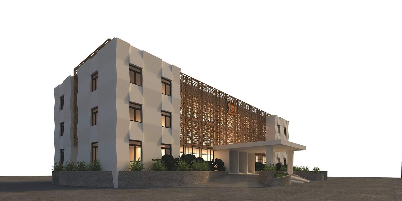 mô hình 3d trụ sở làm việc cơ quan nhà nước