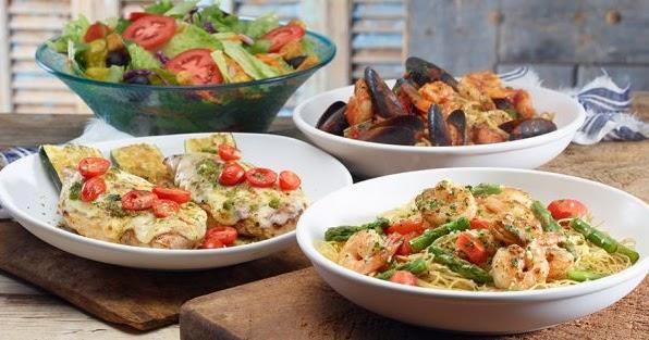 Olive Garden Releases Under 600 Calorie Tastes Of The Mediterranean Menu Brand Eating