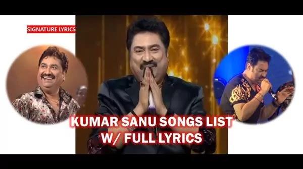 KUMAR SANU - Songs | Songs List | Songs Lyrics