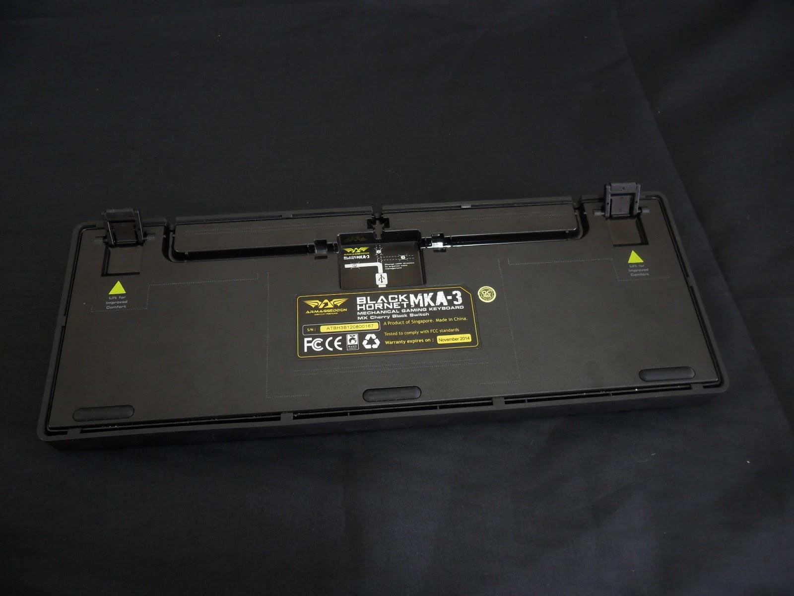 Unboxing & Review: Armaggeddon Black Hornet MKA-3 Mechanical Gaming Keyboard 10