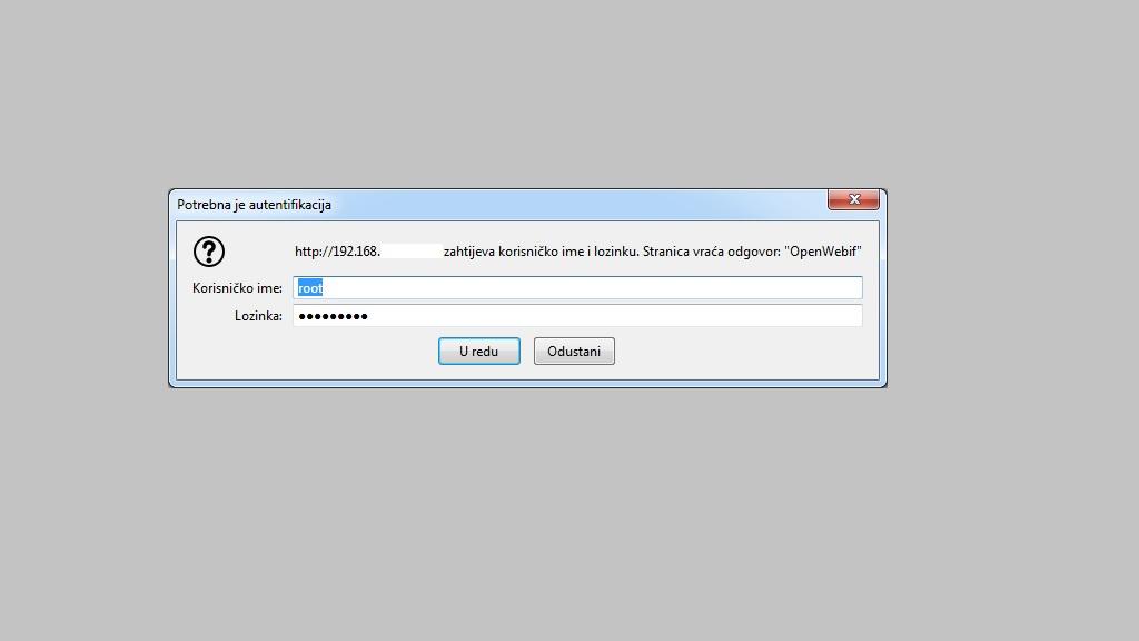 Kako postaviti password na Open Web Interface OpenWebIf_4