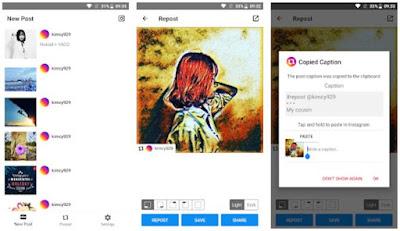 Aplikasi Repost Instagram Terbaik dan Gratis 8