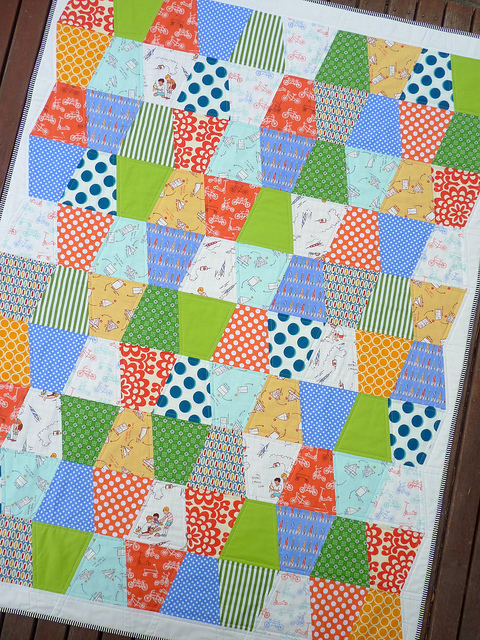Red Pepper Quilts: Boys at Play ~ A Finished Quilt