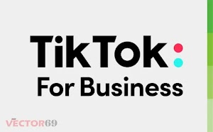 Logo TikTok For Business (.CDR)