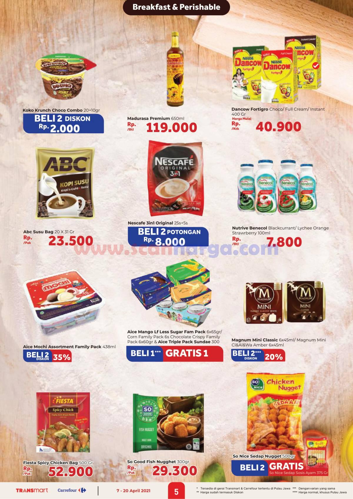 Katalog Promo Carrefour Transmart 7 - 20 April 2021 5