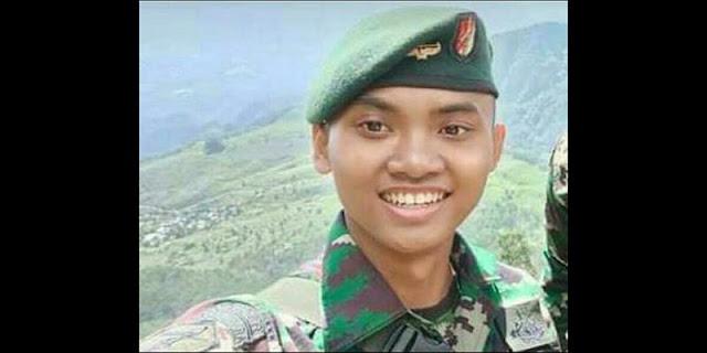 Prajurit TNI yang Diberondong Tembakan di Papua Dikenal Rajin Beribadah