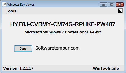 Windows key viewer portable