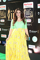 Sridevi Telugu Actressi in green Yellow Anarkali Dress at IIFA Utsavam Awards 028.JPG