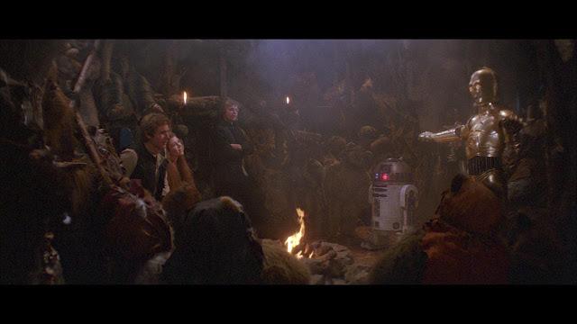 C-3PO-like narrative