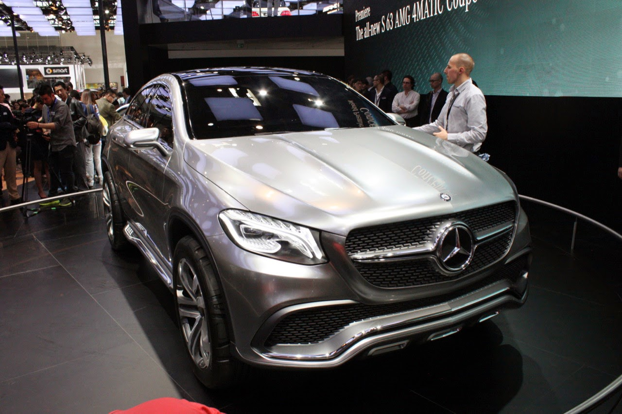 © Automotiveblogz: Mercedes-Benz Concept Coupe SUV ...