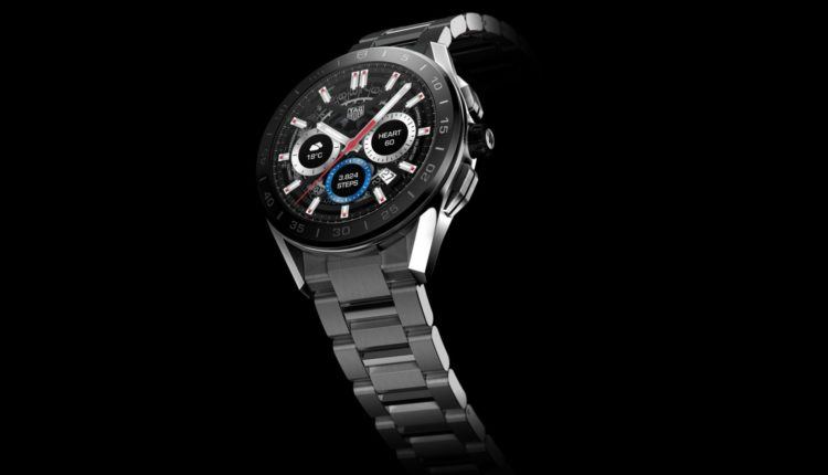Luxury watch company TAG Heuer launches its new smart watch