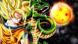 goku super saiyan con la bola del dragon numero 4