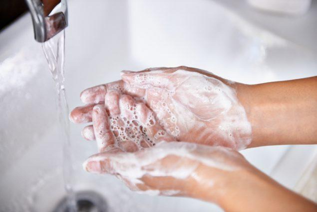 bagaimana cara mencuci tangan yang benar
