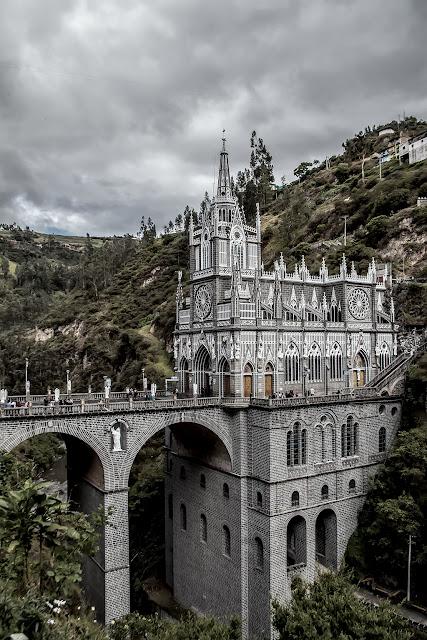 Santuario de Las Lajas, Ipiales, Colombia