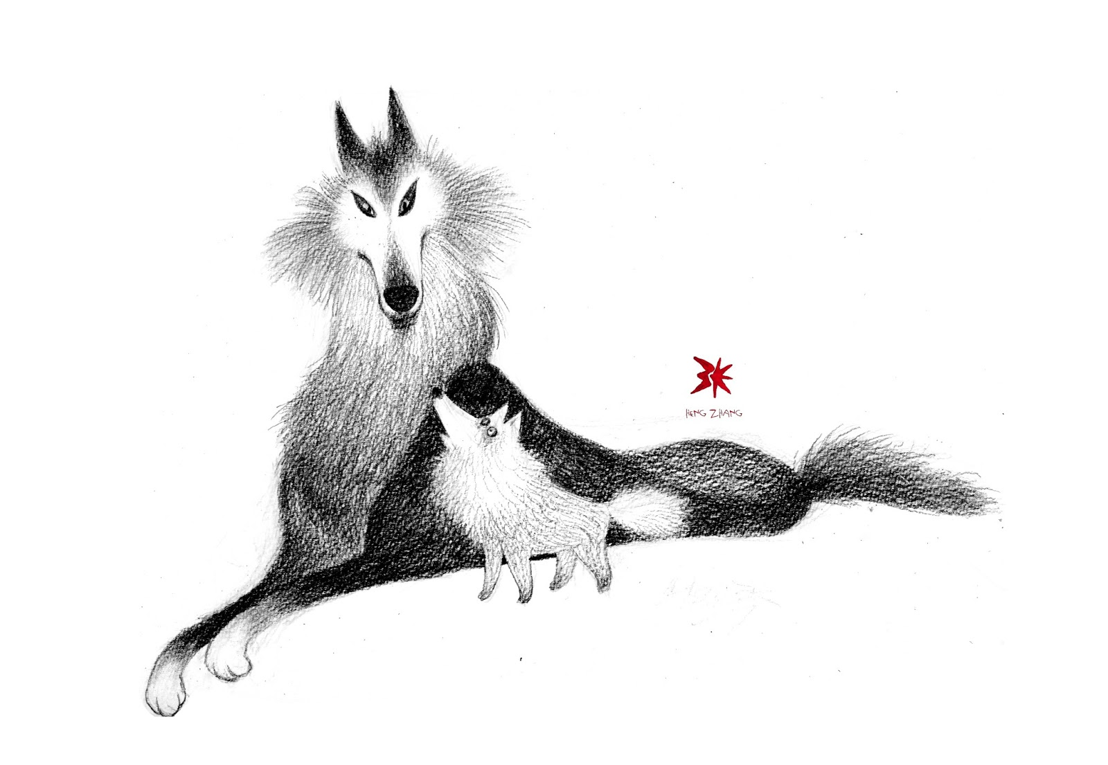 Squash 'n Sketch: Wolves
