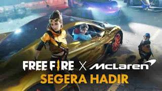 Free Fire Umumkan Kolaborasi dengan McLaren Racing