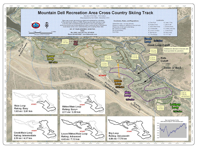 Mountain Dell map