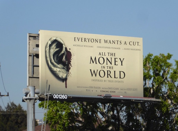 All Money in the World ear billboard