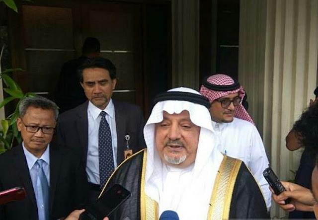 Dubes Arab Saudi Benarkan Nasib HRS Sedang Dinegosiasikan