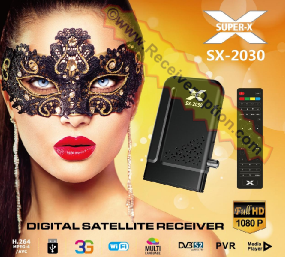 SUPER-X SX-2030 HD RECEIVER NEW SOFTWARE