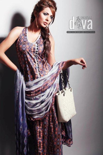 Digital Diva Summer Lawn Collection 2012