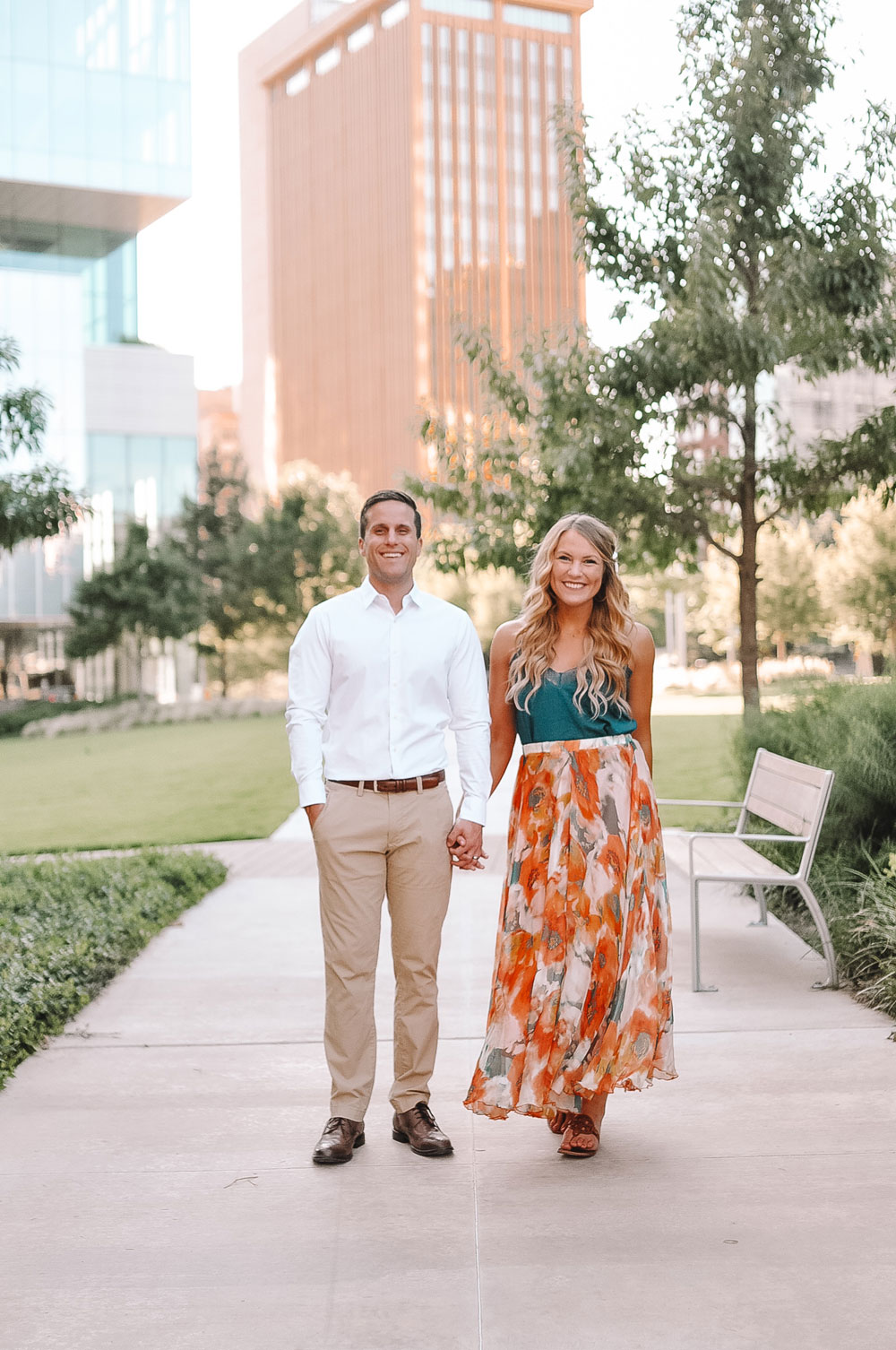 Oklahoma blogger Amanda Martin of Amanda's OK shares her four year wedding anniversary photoshoot