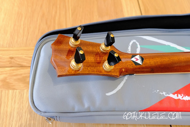 The Rebel Quark Tenor Ukulele tuners