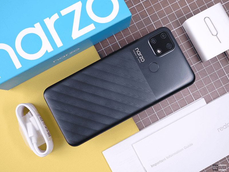 5 best features of the realme narzo 30A
