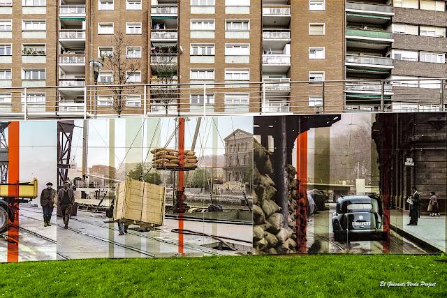 Mural (detalle) Fotografico de Matiko, por E. Durero - Bilbao, por El Guisante Verde Project