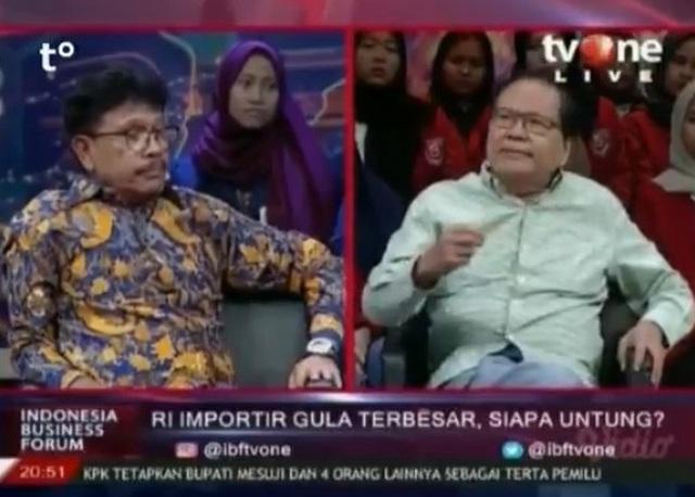 Begini Debat Hebat! Rizal Ramli 'Sikat' Politisi Nasdem Pakai Data dan Fakta