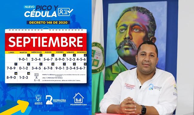 hoyennoticia.com, Pico y cédula en Riohacha durante la primera quincena de septiembre