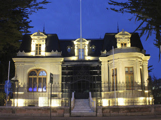 Magallanes Regional Museum in Punta Arenas.