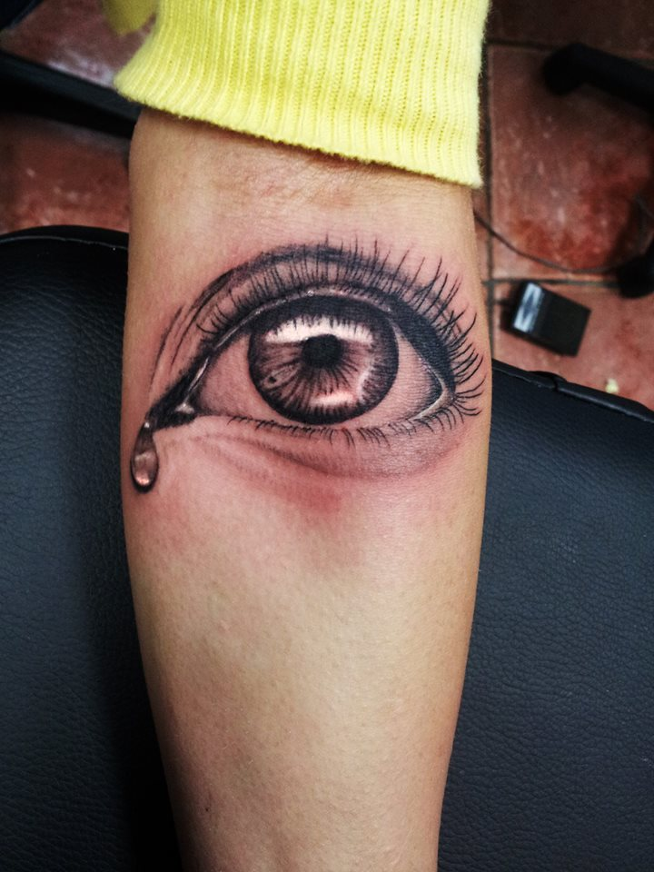Eye Tattoo Design