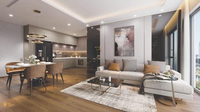 Thiết kế căn hộ Thăng Long Number One