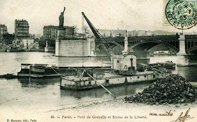 Statue de la Liberté - Pont de Grenelle - Paris
