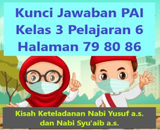 Kunci Jawaban PAI Kelas 3  Pelajaran 6 Halaman 79 80 86