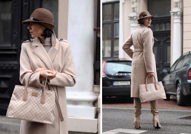 kapelusz damski stylizacje jesienne