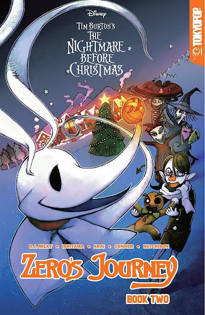 Tim Burton's The Nightmare Before Christmas — Zero's Journey Book 2