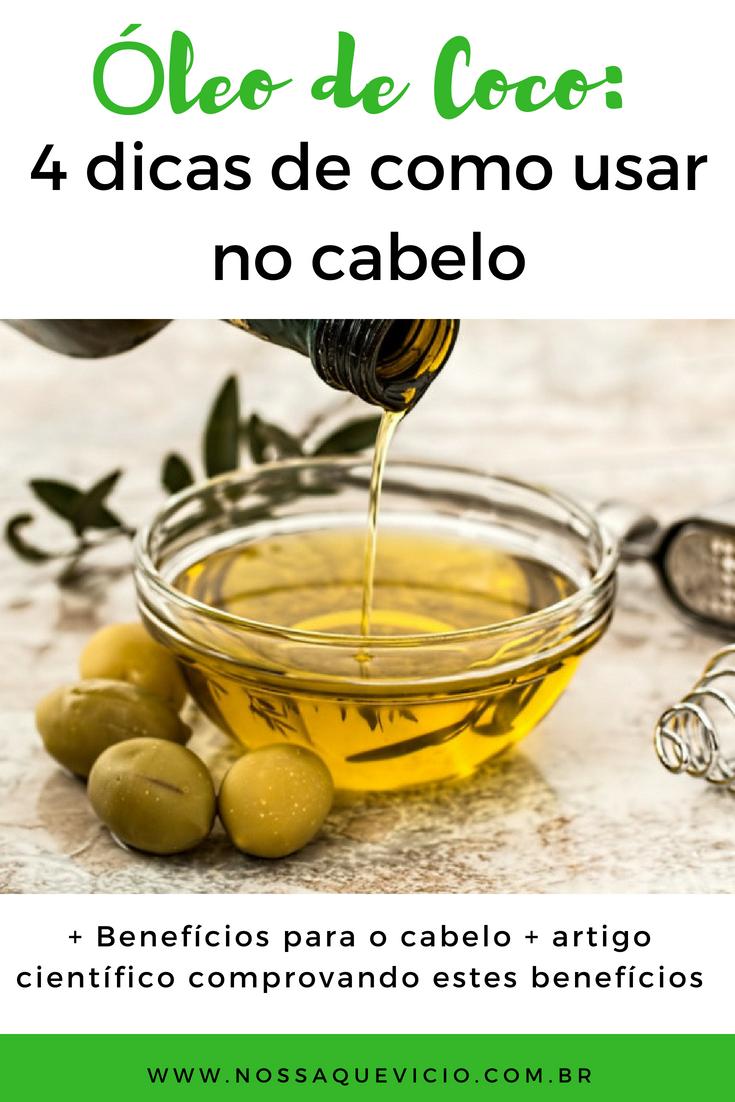COMO USAR ÓLEO DE COCO NO CABELO CACHEADO